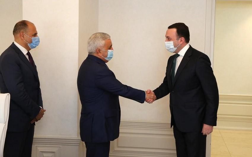 SOCAR-ın prezidenti Gürcüstanın Baş naziri ilə görüşdü