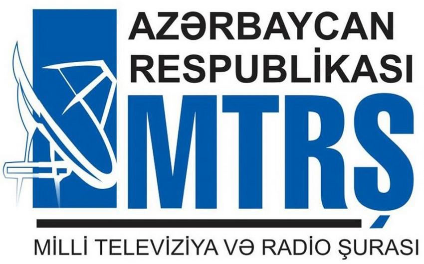 MTRŞ: Region telekanallarında qanun pozuntularına çox az rast gəlinir