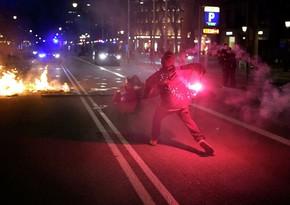 В Испании более 60 человек пострадали в ходе акций
