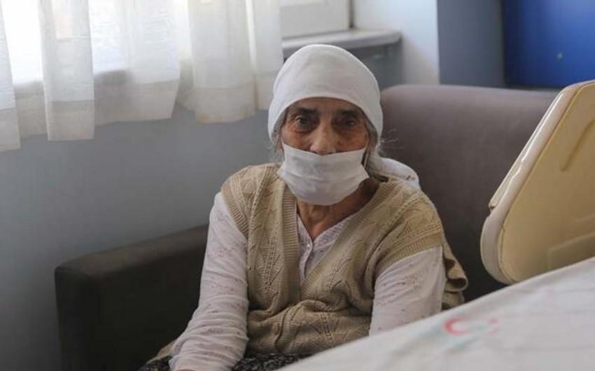 Türkiyədə 107 yaşlı qadın koronavirusdan sağaldı
