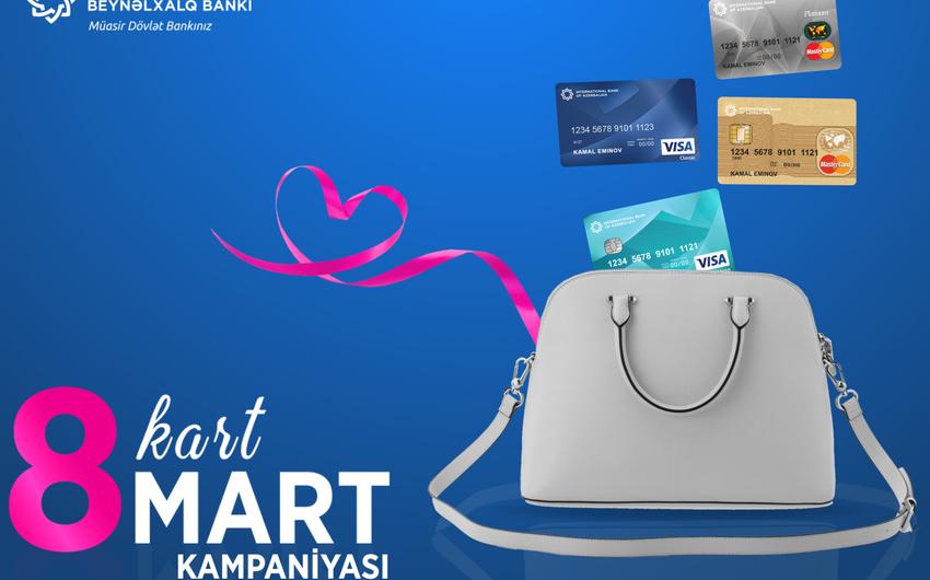 Azərbaycan Beynəlxalq Bankı xanımlara kart hədiyyə edəcək