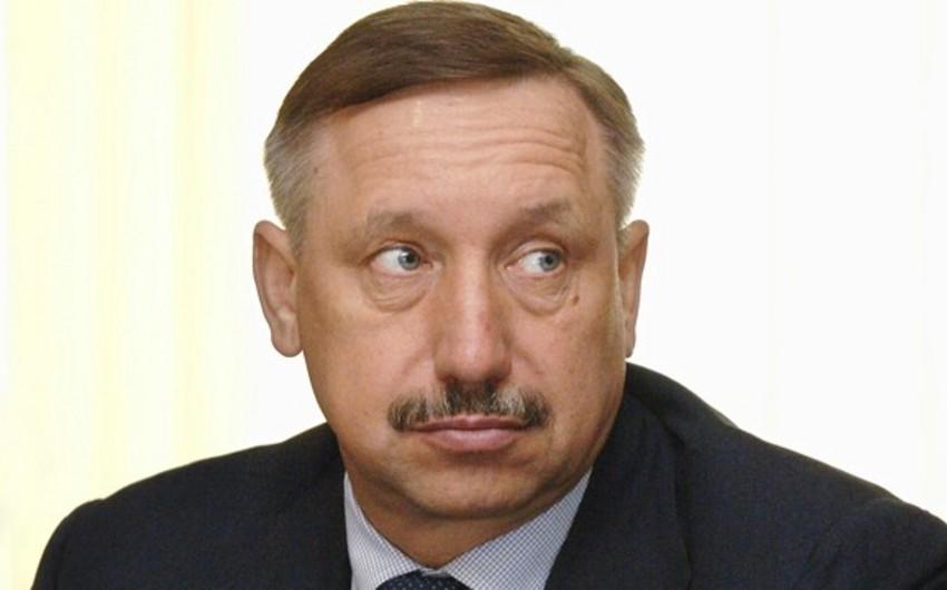 Бакинец официально вступил в должность губернатора Санкт-Петербурга