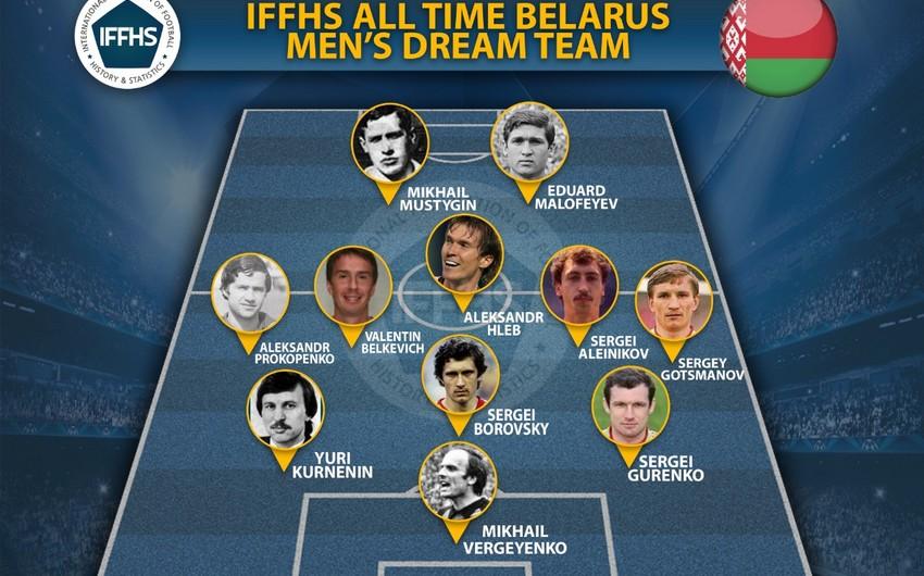 Azərbaycanda oynamış futbolçular Belarus tarixinin rəmzi komandasına düşüb