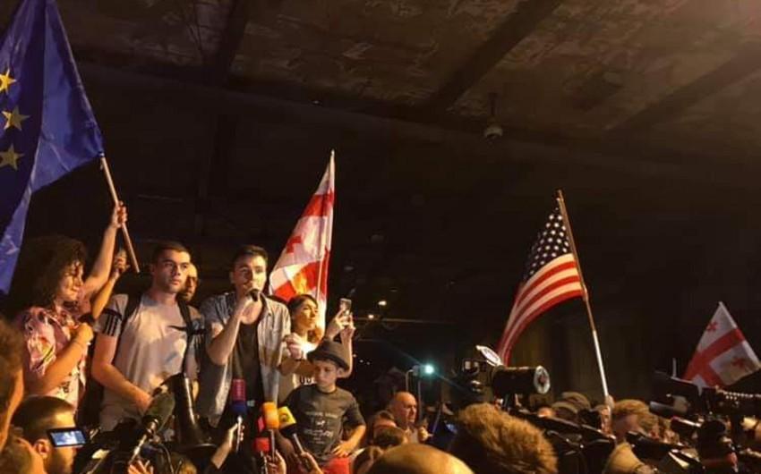 Tbilisidə keçirilən aksiya başa çatıb