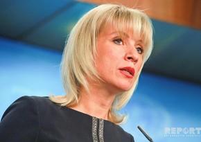 Захарова: Нас крайне беспокоит, что в ходе конфликта гибнут мирные жители