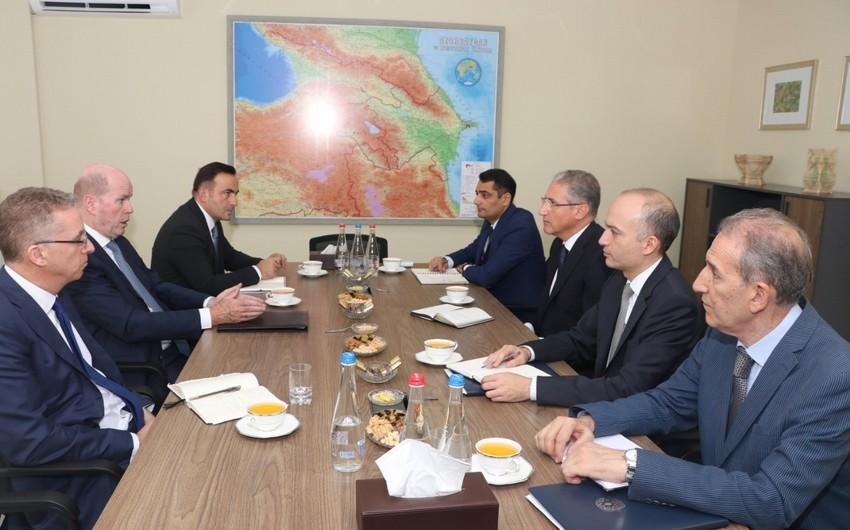 ETSN-də BP-nin regional prezidenti ilə görüş keçirilib