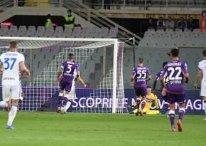 Fiorentina və İnterin azarkeşləri bir-biri ilə dalaşıb