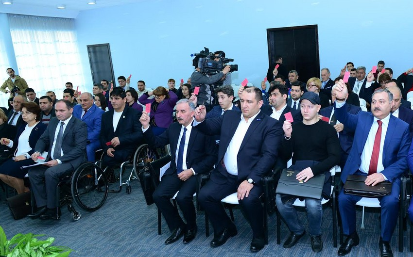 Ilham Zakiyev elected Vice-President of National Paralympic Committee