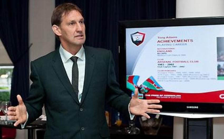 """Toni Adams: """"Qarabağ""""ın Arsenalla Bakıda keçirdiyi oyun Azərbayca futbolunun inkişafının nümunəsidir"""