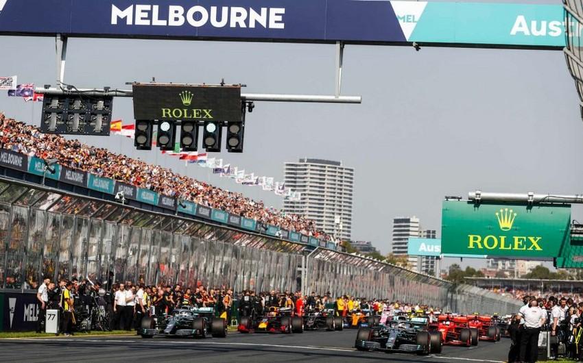 Formula 1: Avstraliya Qran-prisi ləğv olundu