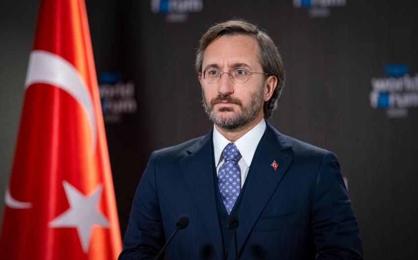 Türkiyə PA-nın rəsmisi Los-Ancelesdə Azərbaycan bayrağının yandırılmasını qınayıb