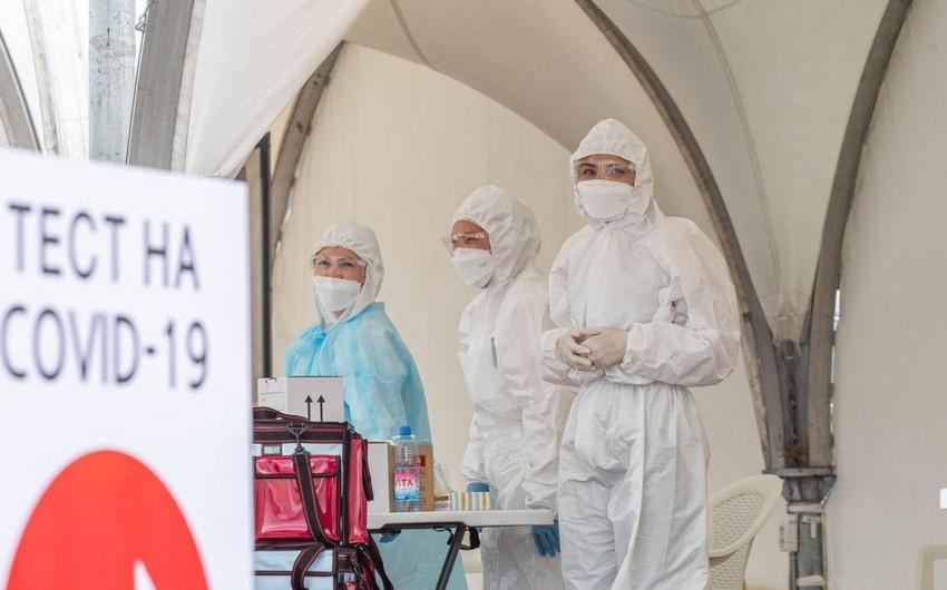 Qazaxıstanda koronavirusa yoluxanların 8,3 mini ötdü