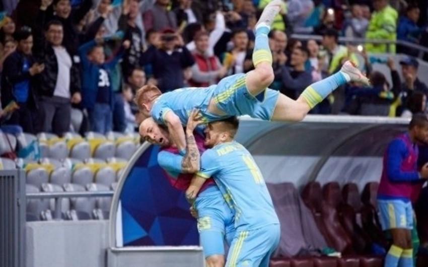 Qarabağın sabiq futbolçuları Astananı Avropa Liqasının qrup mərhələsinə çıxarıb