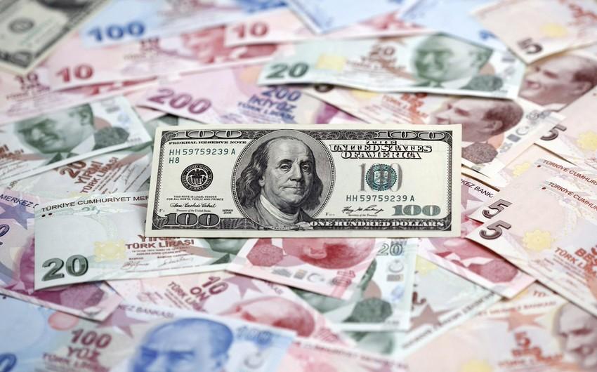 Türkiyədə dolların məzənnəsi 3,60 lirəni ötüb