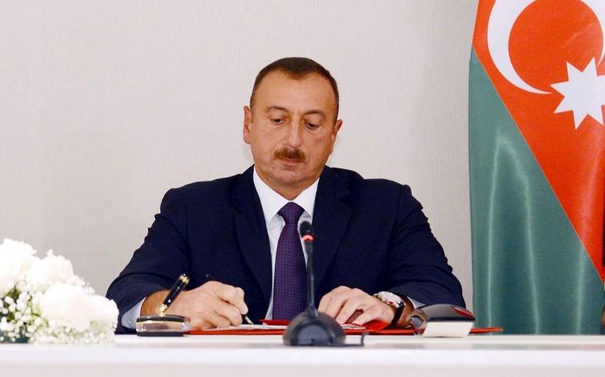 Prezident Qaz təchizatı haqqında qanuna dəyişiklikləri təsdiq edib