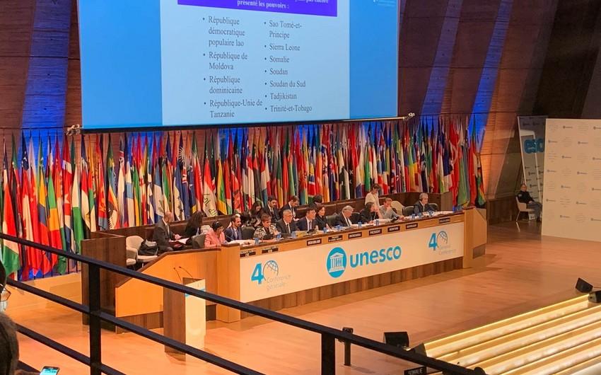 Azərbaycan UNESKO-nun 40-cı Baş Konfransı sessiyasının vitse-prezidenti seçilib