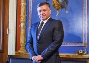 İordaniya Kralı II Abdullah Prezident İlham Əliyevi təbrik edib