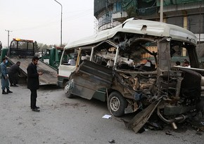 В Афганистане подорвался автобус, трое погибли