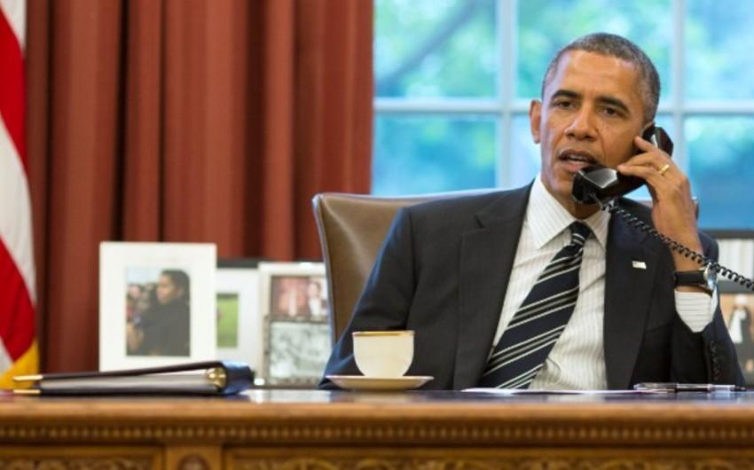 Obama Dağlıq Qarabağ münaqişəsinin nizamlanması üzrə səyləri gücləndirməyə hazır olduğunu bildirib