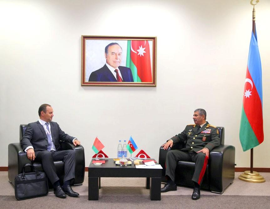 Azerbaijan and Belarus discuss issues of military cooperation