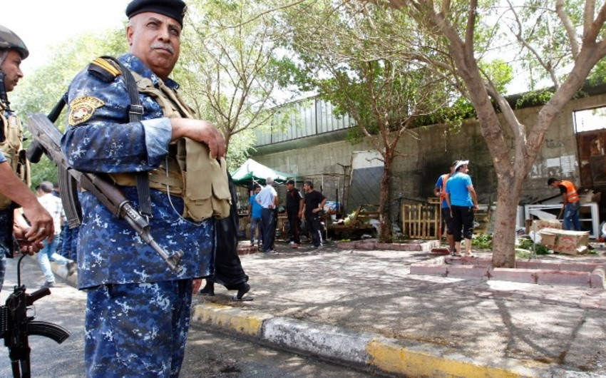 İraqda ikiqat terror hücumu nəticəsində 20-yə yaxın polis əməkdaşı ölüb