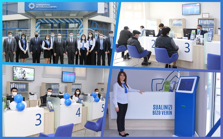 Azərbaycan Beynəlxalq Bankı daha  4 xidmət ofisini yeniləyib