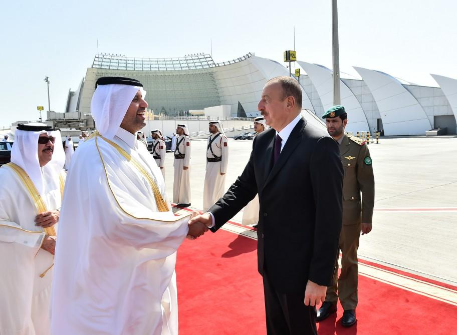 Azerbaijani President completes official visit to Qatar