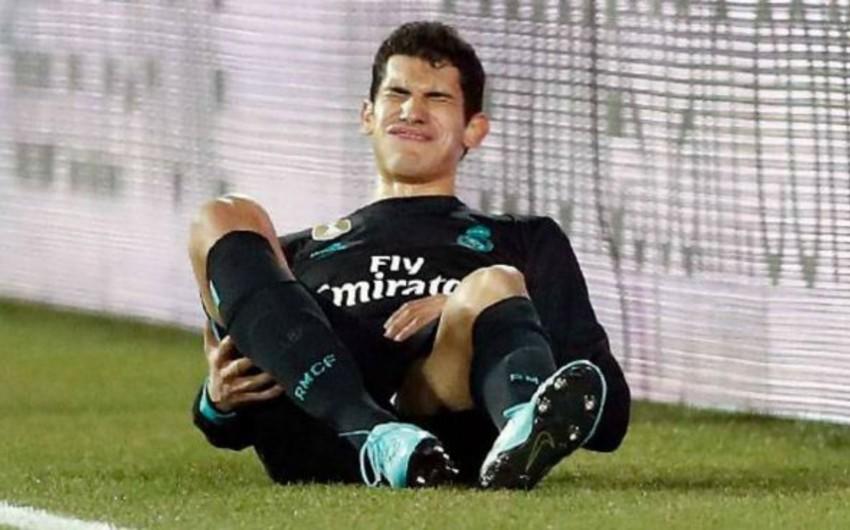Real Madridin müdafiəçisi mövsüm ərzində dördüncü dəfə zədələnib