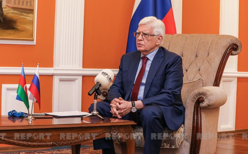 Russian Ambassador: We highly appreciate what Azerbaijan has done at UN - INTERVIEW