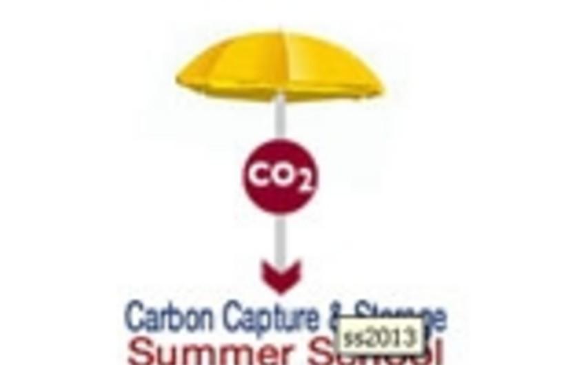 Karbon qazının əldə edilməsi və saxlanması texnologiyası üzrə yay məktəbi keçiriləcək