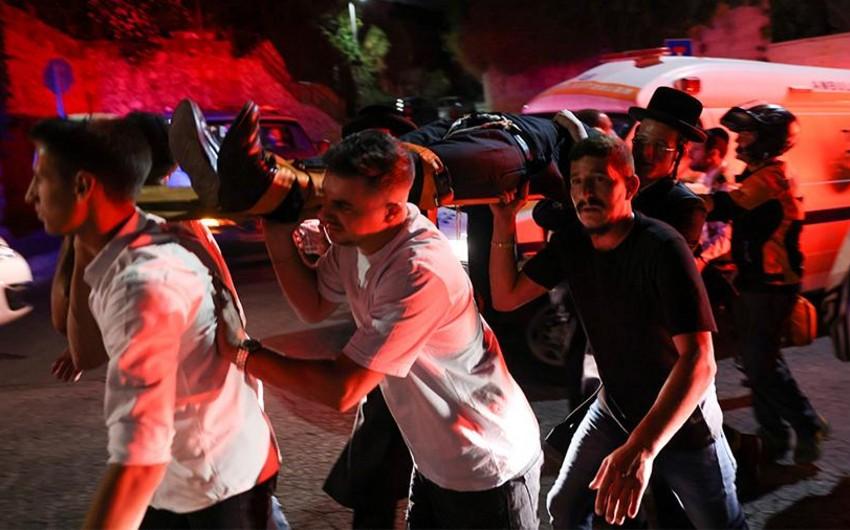 İsraildə sinaqoqun tribunasının çökməsi zamanı yaralıların sayı 200-ü ötdü, ölənlər var - YENİLƏNİB-3
