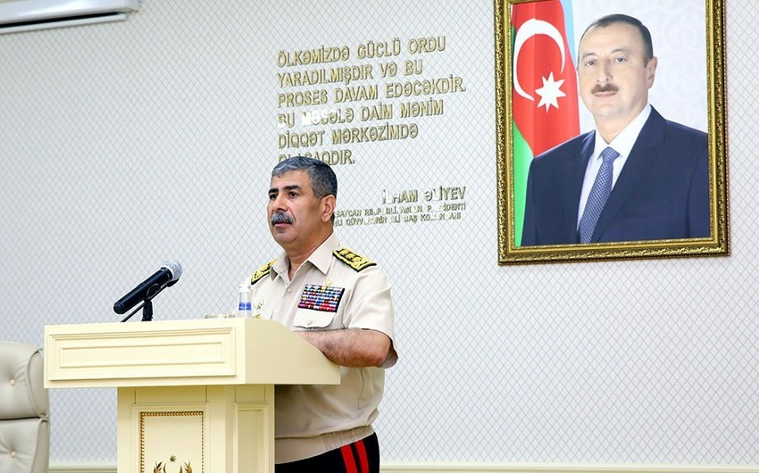 Zakir Hasanov: 90 percent of the Azerbaijani Army consists of professional military men