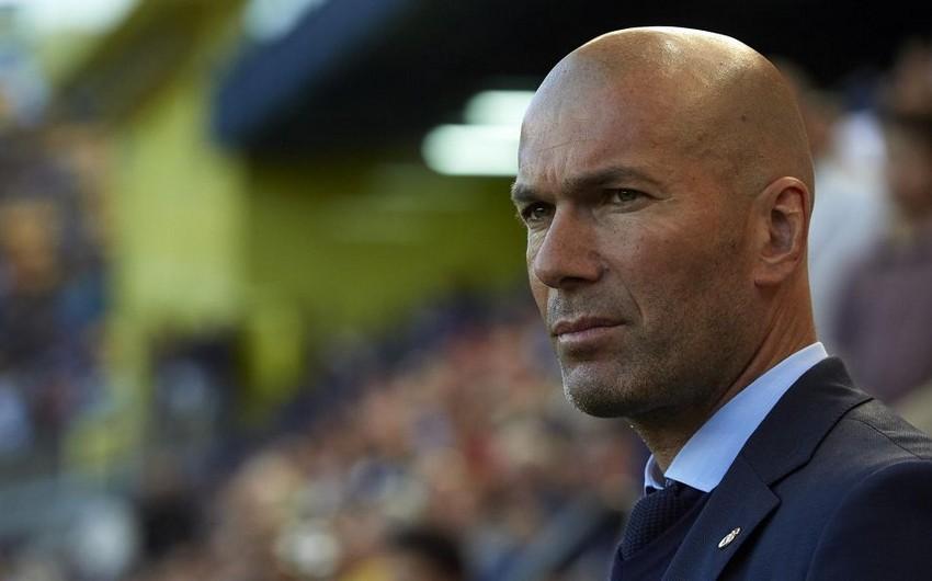 """KİV: Zidan """"Real Madrid""""i tərk edə bilər"""