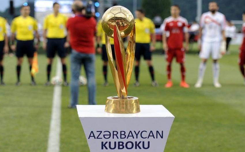 Azərbaycan Kuboku: 1/4 final mərhələsinin ilk oyunlarının proqramı açıqlanıb
