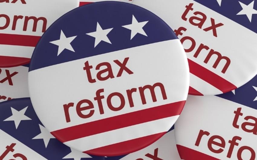 Trampın vergi islahatı 4 trilyon dollara yaxın vəsaitin ABŞ-a qaytarılmasına kömək olacaq