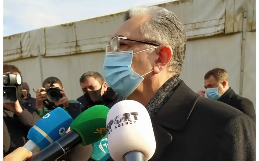 """İcra başçısı: """"Sürüşmə hadisəsi ilə əlaqədar tədbirlər planı hazırlanmalıdır"""""""