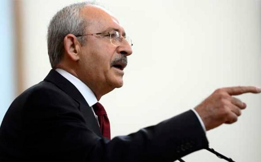 Kamal Kılıcdaroğlu: Bəziləri AKP-siz hökumətin qurulacağını xəyallarından belə keçirə bilmir