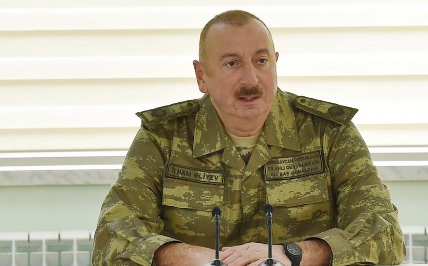 Верховный главнокомандущий: Никто не сможет противостоять Азербайджану