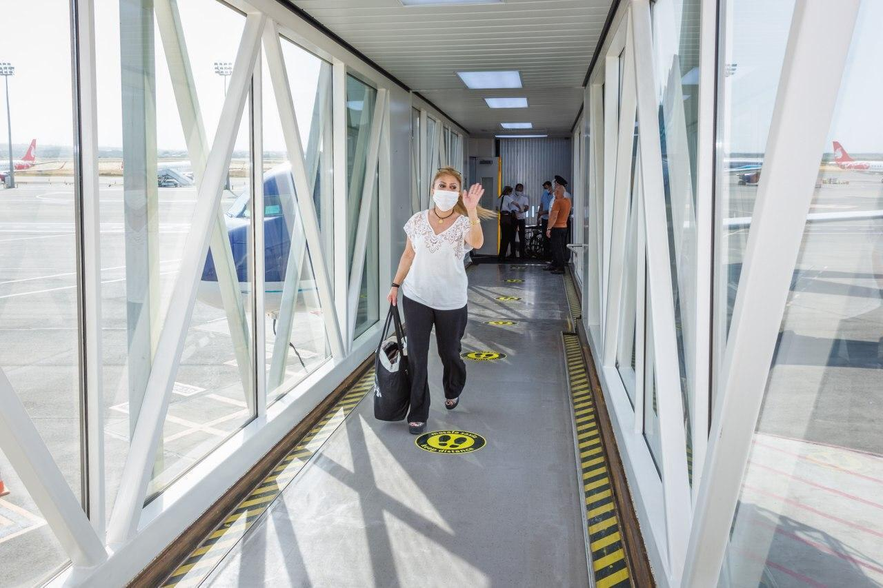 Azerbaijani citizens arriving by Istanbul-Baku flight exempted from quarantine - VIDEO
