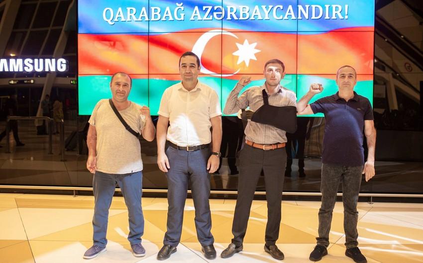Daha 10 qazimiz müalicə üçün Türkiyəyə göndərilib - SİYAHI