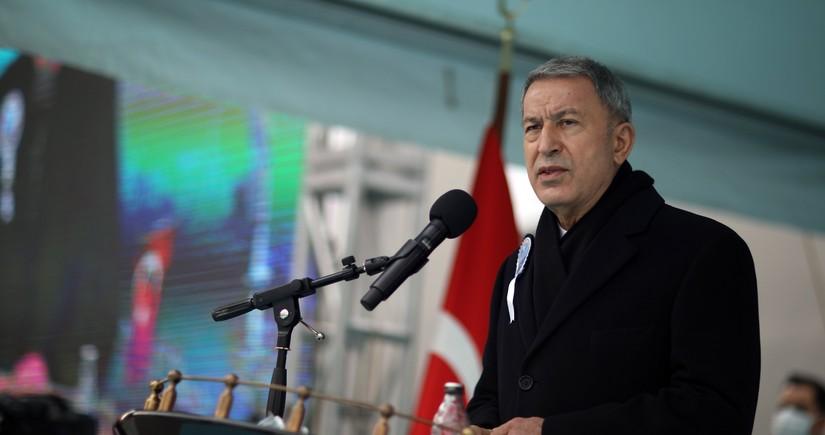 Hulusi Akar: Ermənistanın mina xəritələrini Azərbaycana verməsi ilə bağlı təmaslar davam edir