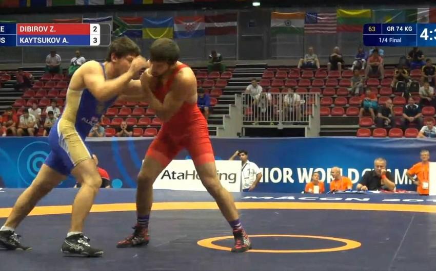 Azerbaijani Greco-Roman wrestler gets 4-year ban for doping