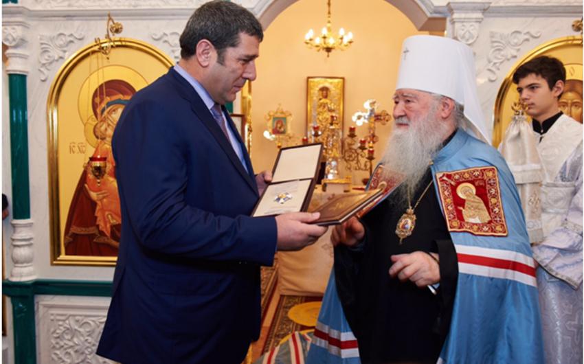 Moskvada yaşayan azərbaycanlı Rus Pravoslav kilsəsinin ordeninə layiq görülüb