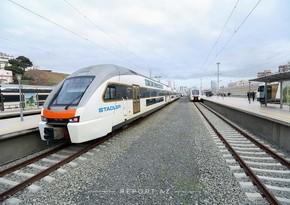 Поезд Баку-Гянджа пустят по маршруту Баку-Сумгайыт