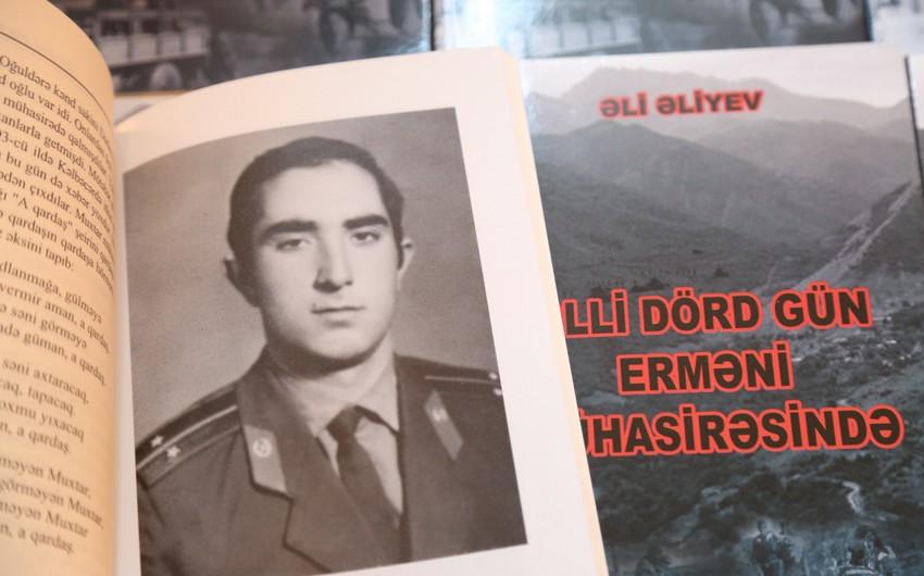 """""""Əlli dörd gün erməni mühasirəsində"""" kitabının satışı davam etdirilir"""