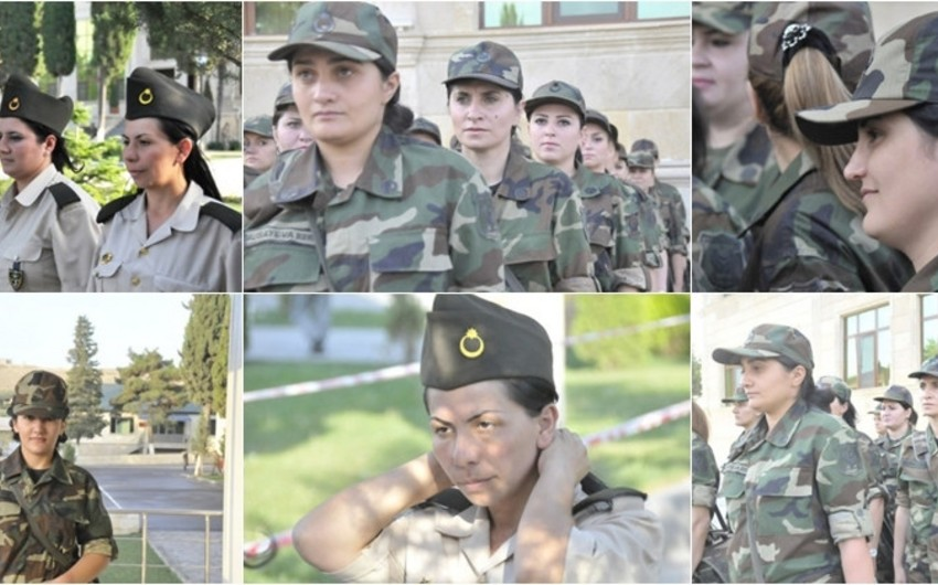 More than 300 women accepted into Azerbaijan Armed Forces