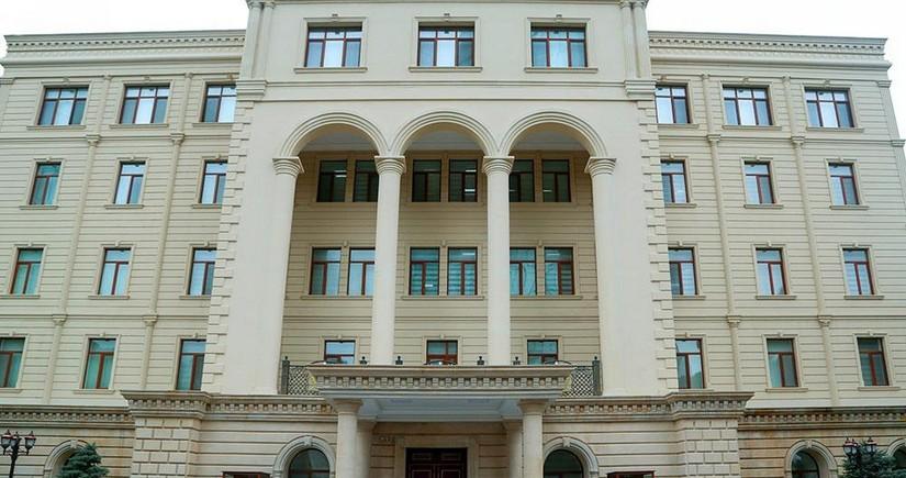 МО: Армия Азербайджана не обстреливает города Ханкенди и Ходжавенд