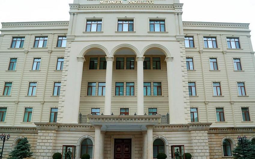 Defense Ministry : Enemy firing territories in Goranboy-Naftalan direction