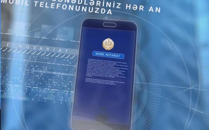 Azərbaycanda Mobil notariat istifadəçilərinin sayı 120 minə çatır