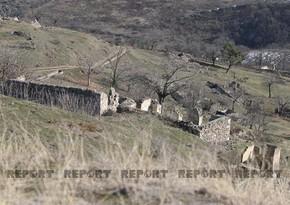 Zəngilanda düşmənin istehkamları yarılaraq azad edilən kəndlər
